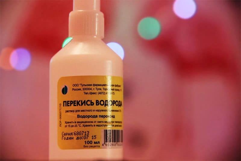 Перекись водорода для лечения стоматита